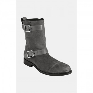 SALE - Mens Cole Haan Air Sutton Mid Calf Boots Gray Suede - Was $298.00 - SAVE $98.00. BUY Now - ONLY $199.90