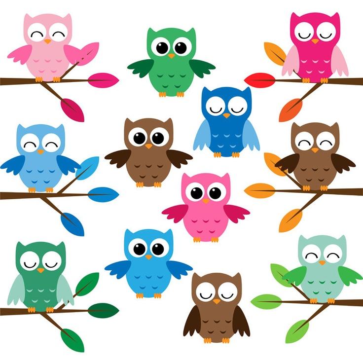 owl clip art pinterest - photo #9