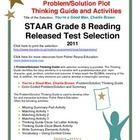 This classroom tested product includes the complete analysis for the STAAR released test selection: You're a Good Man, Charlie Brown. It is release...