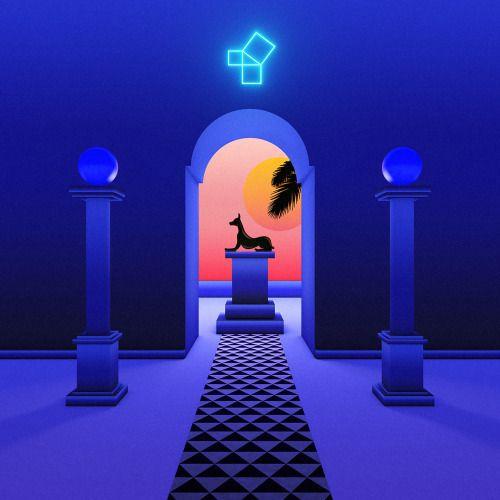 Aden • Four ULTRAMAJIC__LVX006 (Release date March 17 2014) Artwork by Pilar Zeta & Jimmy Edgar