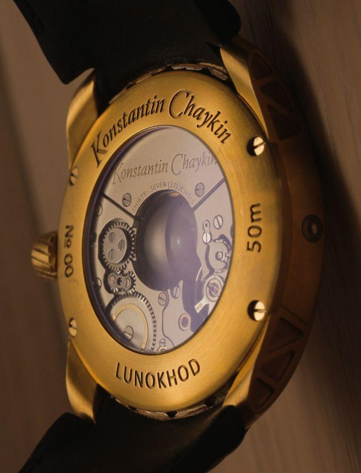 Konstantin Chaykin Lunokhod Prime Watch Hands-On