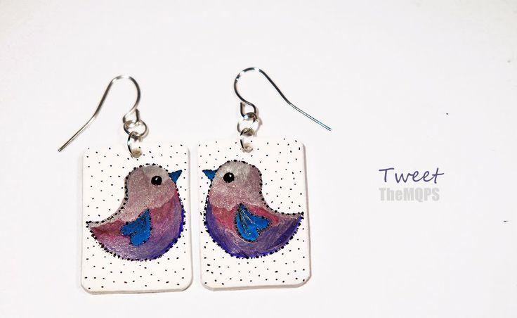 * Tweet * 100% handmade & original jewellery. Earings. themqps, more: themqps.blogspot.com