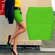 包邮 neue Frauenbewegung im Frühjahr und Herbst und Winter große Code-Paket Hip Rock Röcke homogener als die kleinen kurzen Rock, hohe Taille Rock weiblichen