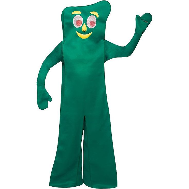 Gumby Costume - Adult, Size: standard, Green