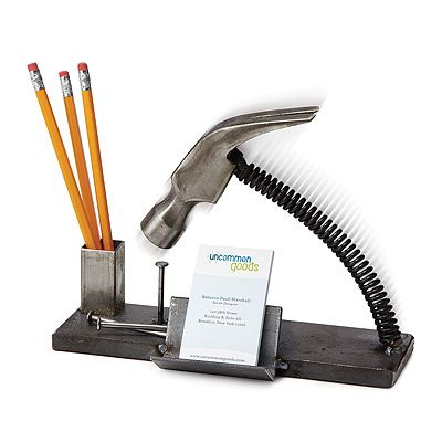 NAILED IT DESK ORGANIZER | Love this for a congrats on your new job gift.