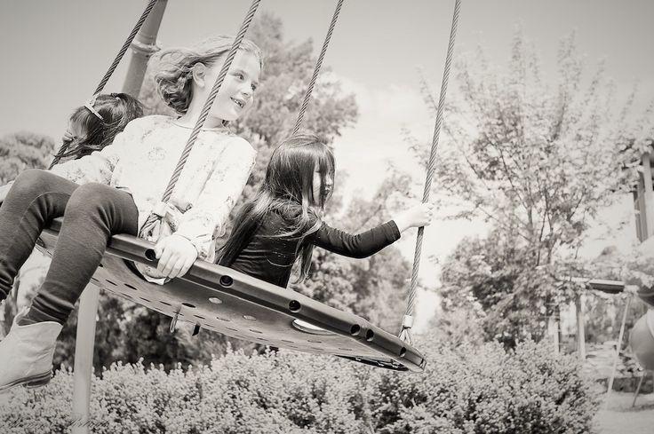 Shereens Portraits – Photography Children at playground. Swing fun