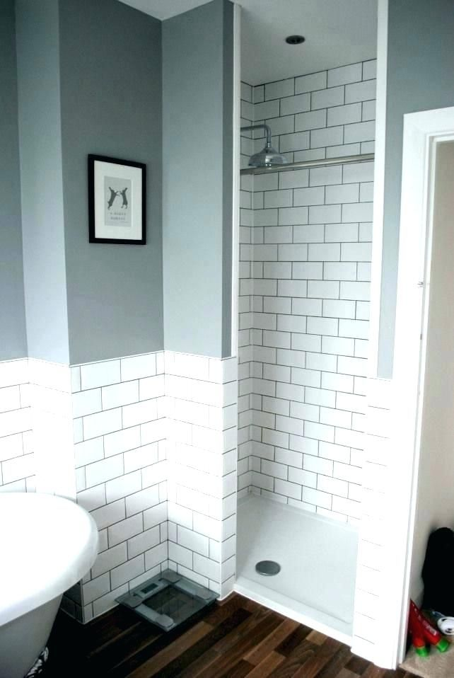 Small Bathroom Ideas Houzz Inspiration For A Small Contemporary Bathroom Makeover Bathrooms Remodel Shower Room