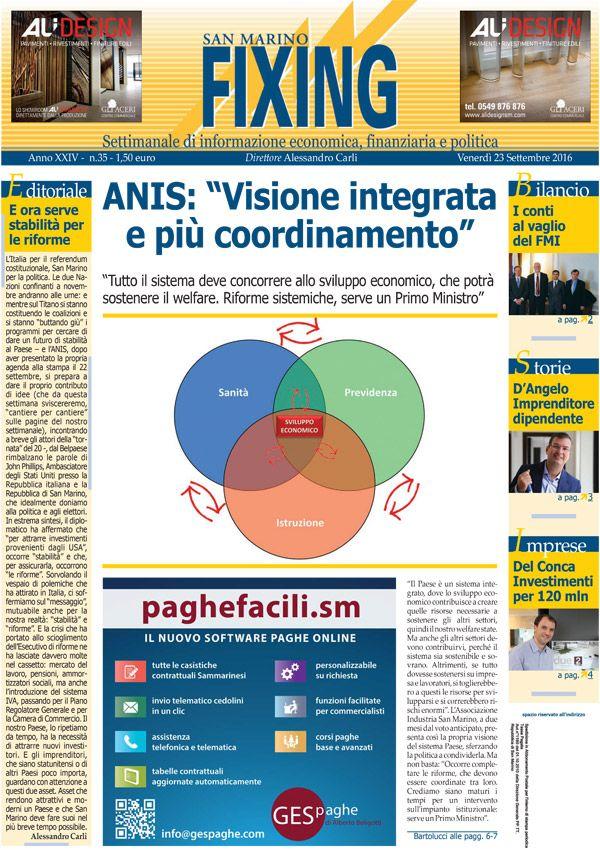 Rassegna Stampa - Venerdì 23 settembre 2016
