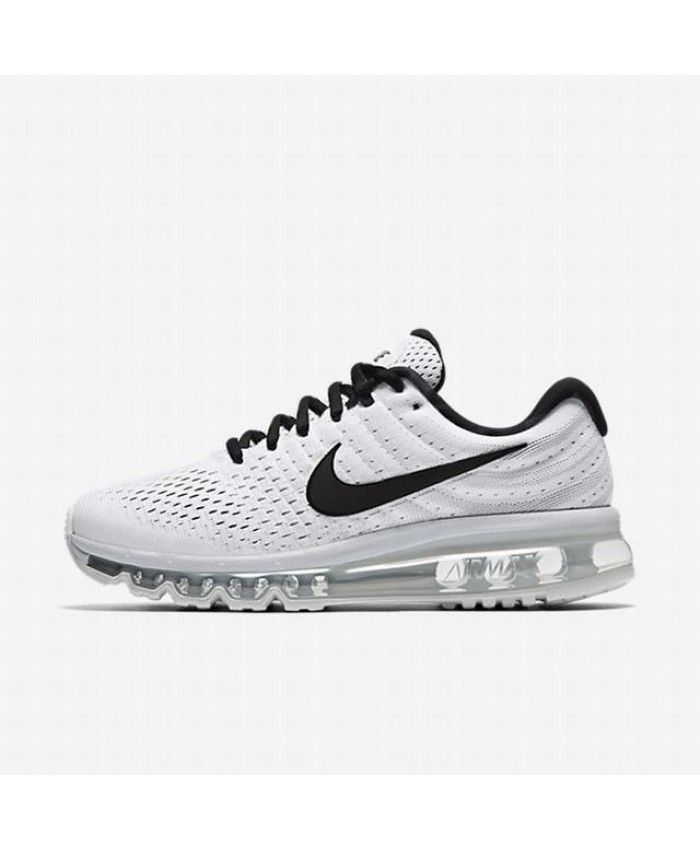 Nike Air Max 2017 Womens White Pure Platinum Black Shoes,Valentine's Day  boys girls favorite