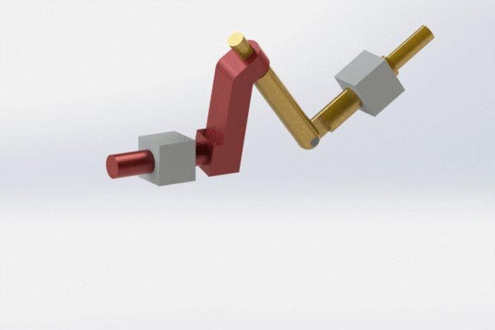 3D Crank Slide Drive