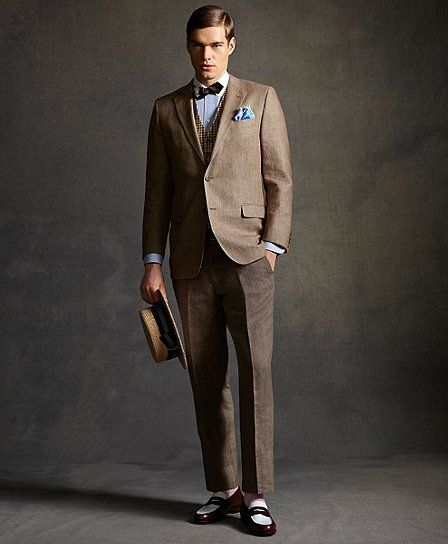 The Great Gatsby Collection Wool and Linen Jacket