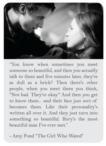 The Girl Who Waited. Love, love, love this quote from Amy.