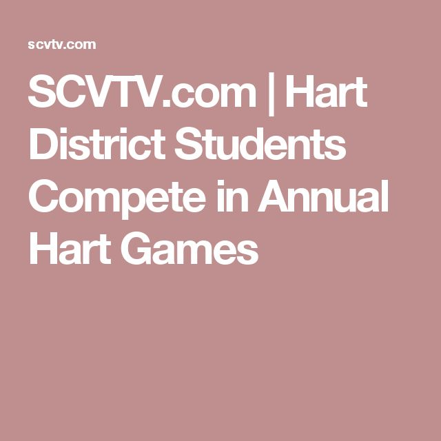 SCVTV.com |   Hart District Students Compete in Annual Hart Games
