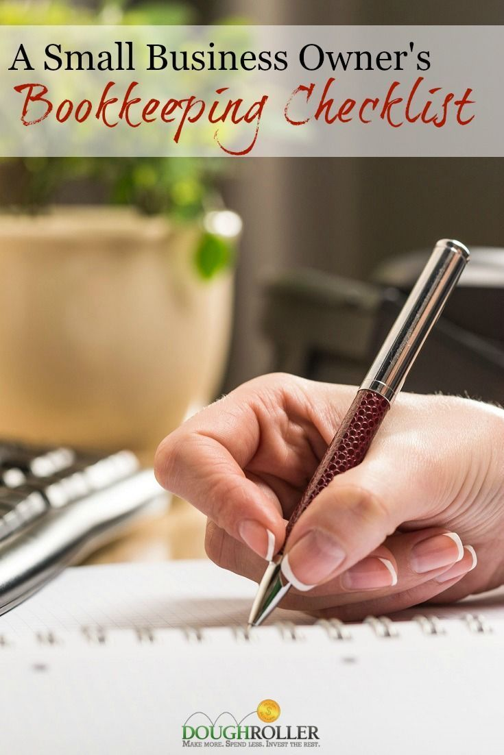 A Small Business Owneru0027s Bookkeeping Checklist 33