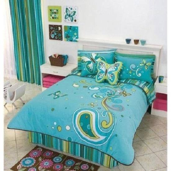 pictures of girls rooms decorating ideas | Ideas for Girls Bedroom: Blue Green Decorating Ideas For Girls Bedroom ...