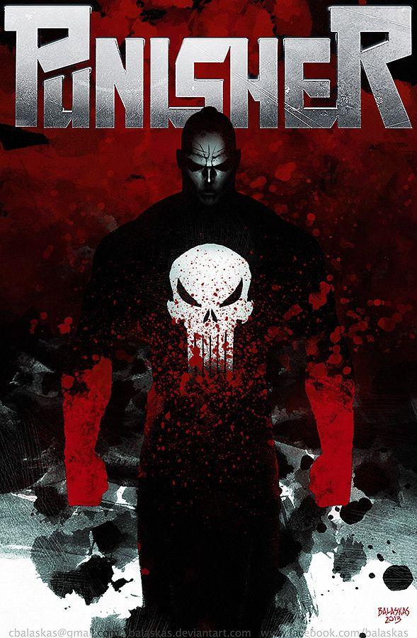 Punisher by Christopher Balaskas