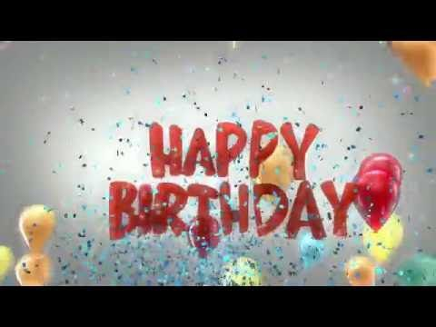 Original happy Birthday song - YouTube