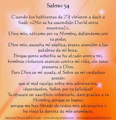 Cristo Para las Naciones: Meditando en la Palabra de Dios, _Salmo 54