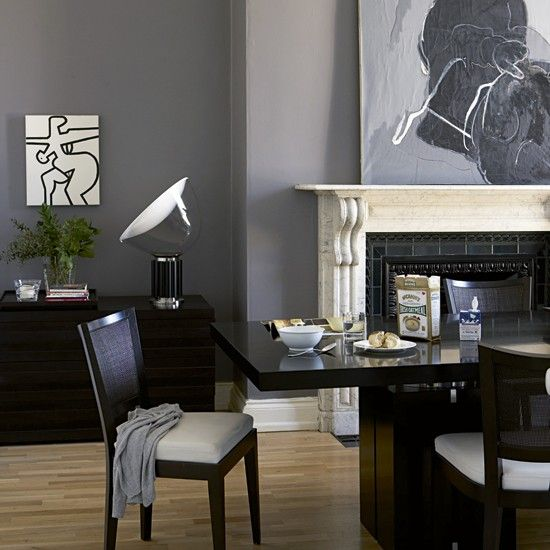 Slate Grey Dining Room