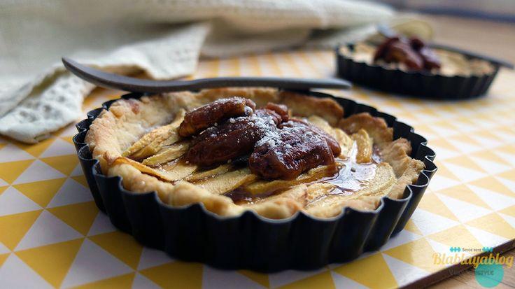 Tarte-pommes-caramel