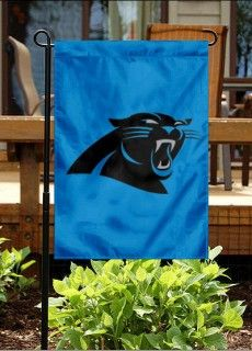 Carolina Panthers Garden Flag.. need this for the house once our fence is up :)