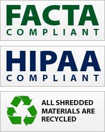 Facta HIPAA document shredding service http://mydocumentshredding.com/hipaa-medical-file-shredding/