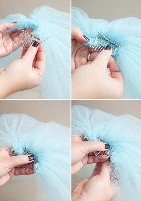 DIY | silly bachelorette party veil
