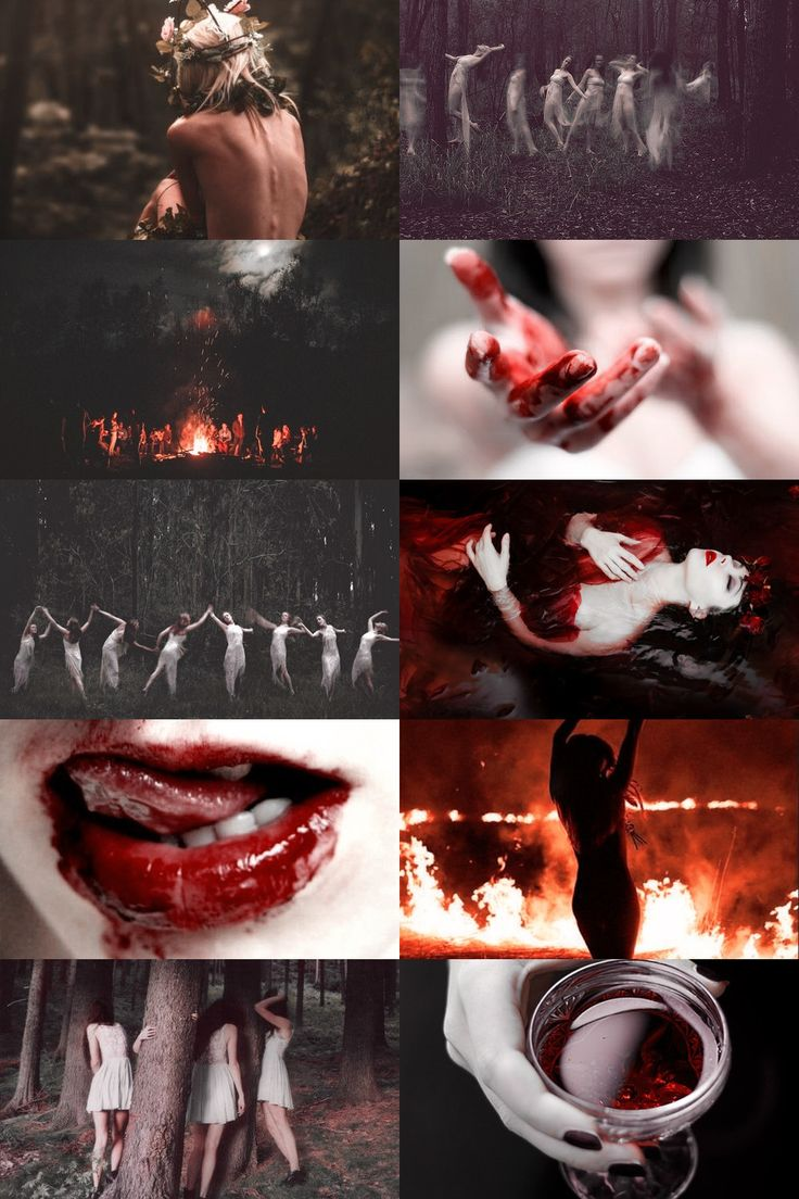 """maenad aesthetic """"In Greek mythology, maenads (/ˈmiːnædz/; Ancient Greek: μαινάδες [m]) were the female followers of Dionysus and the most significant members of the Thiasus, the god's retinue. Their name literally translates as """"raving ones."""" """""""