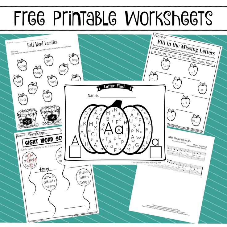 42 best Printables images on Pinterest | Activities for kids, Free ...