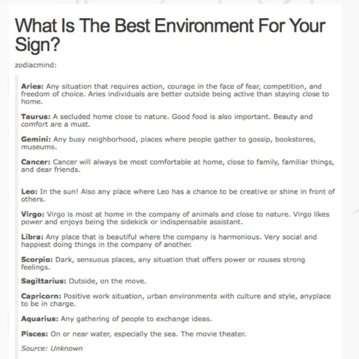 What is the best environment for your sign? Happy Birthday - example of survey form