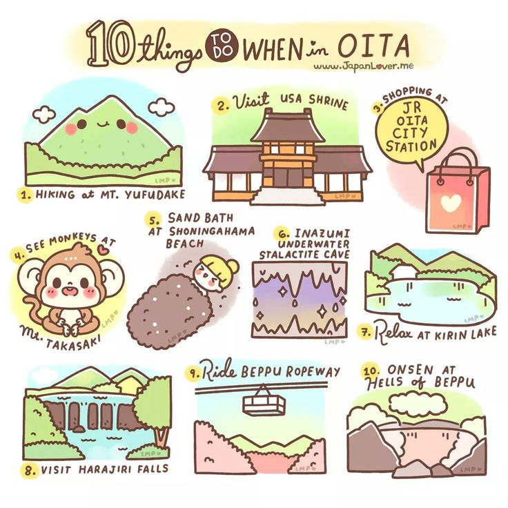 ✨Things To Do When in Oita by JapanLover.me ✨ Oita prefecture is located at the Eastern part of Kyushu Island in Japan.  It is also known as one of the prefectures that has a lot of commercial spa...