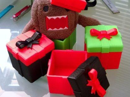 Karácsonyi ajándék ötletek 3D nyomtatóval