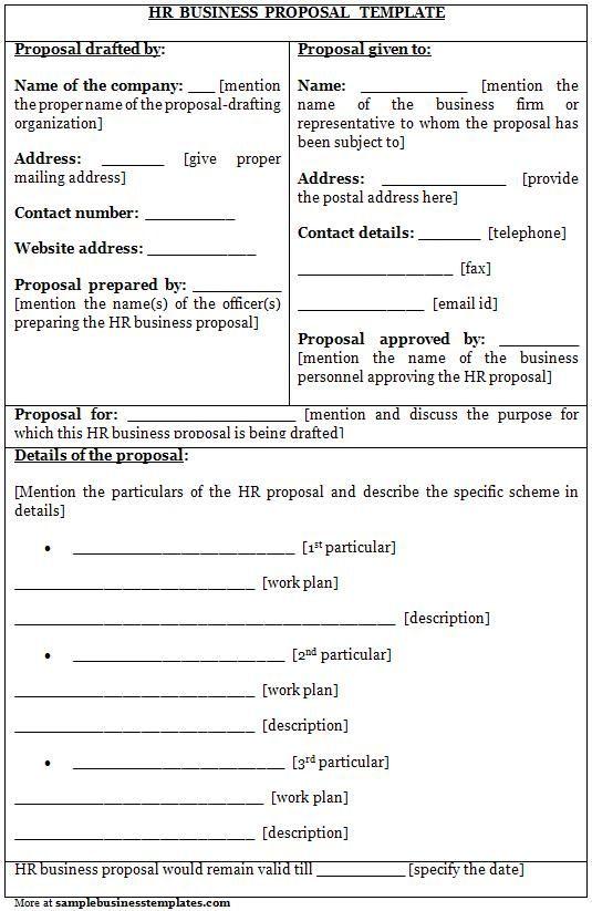 25+ unique Sample business proposal ideas on Pinterest Business - sample work proposal
