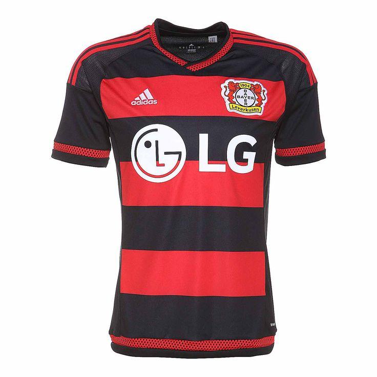 Bayer 04 leverkusen home 2015/2016 fútbol jersey hombre