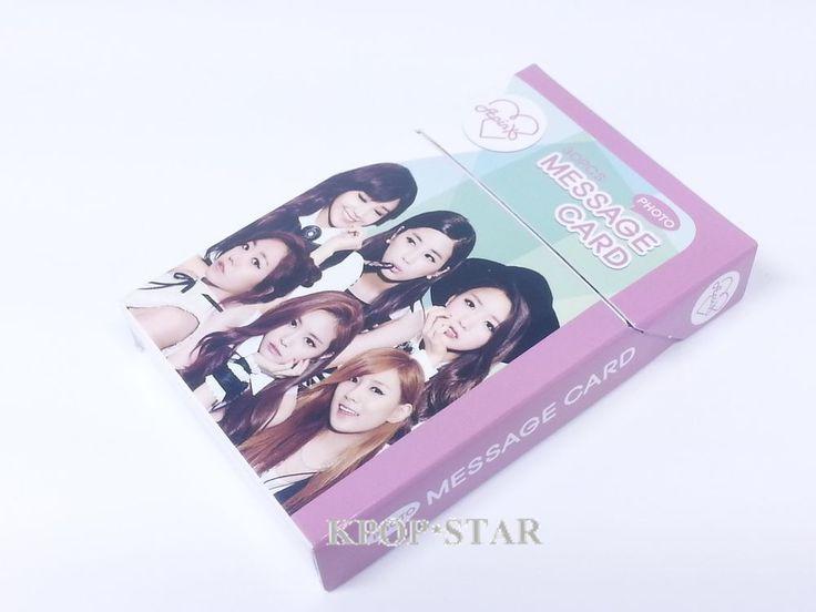 APINK A-Pink Photo Message Card ( 30 Piece ) KPOP K-POP Korean K Pop