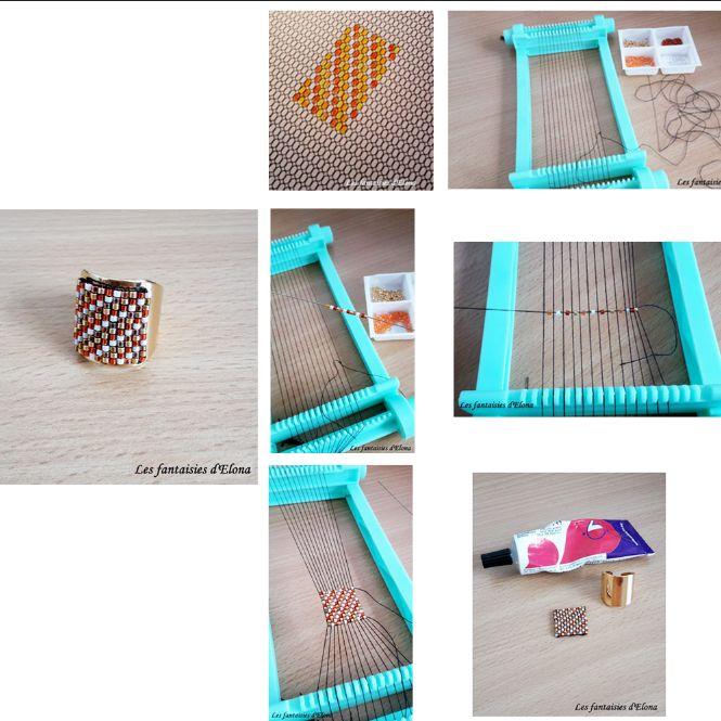 [ Tuto DIY ] Les fantaisies d'Elona nous a encore concocté un super tuto pour que le tissage de perles n'ait plus de secret pour vous ! Sur bague, bracelet, boucles d'oreilles etc. le rendu est toujours aussi sympa ! Suivez le pas à pas >>> http://www.perlesandco.com/Bague_tissage_de_Miyuki_Delicas-s-2296-3.html
