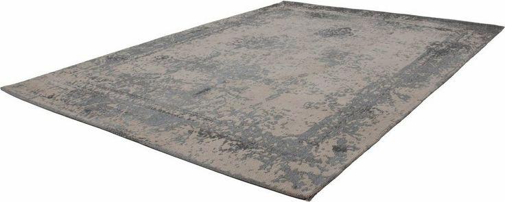 Vielleicht anthrazit unterm Esstisch und das grau-blaue unter der Couch  Teppich »Nostalgia 285«, Kayoom, rechteckig, Höhe 10 mm