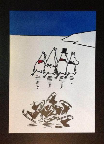 Moomin ムーミンのポスター●No.139 北欧 インテリア 雑貨 家具 Modern ¥1050yen 〆12月03日