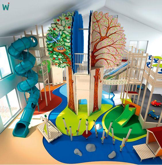 Die besten 25 indoor spielplatz ideen auf pinterest for Innendesign schule