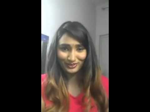 Swathi Naidu saying I Love You
