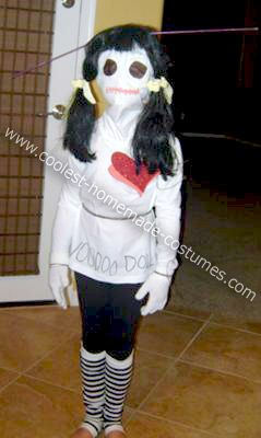 Homemade Voodoo Doll Halloween Costume: My daughter decided this year she wanted to do something different and be scary. We couldn't find anything that hadn't been done before, so we decided