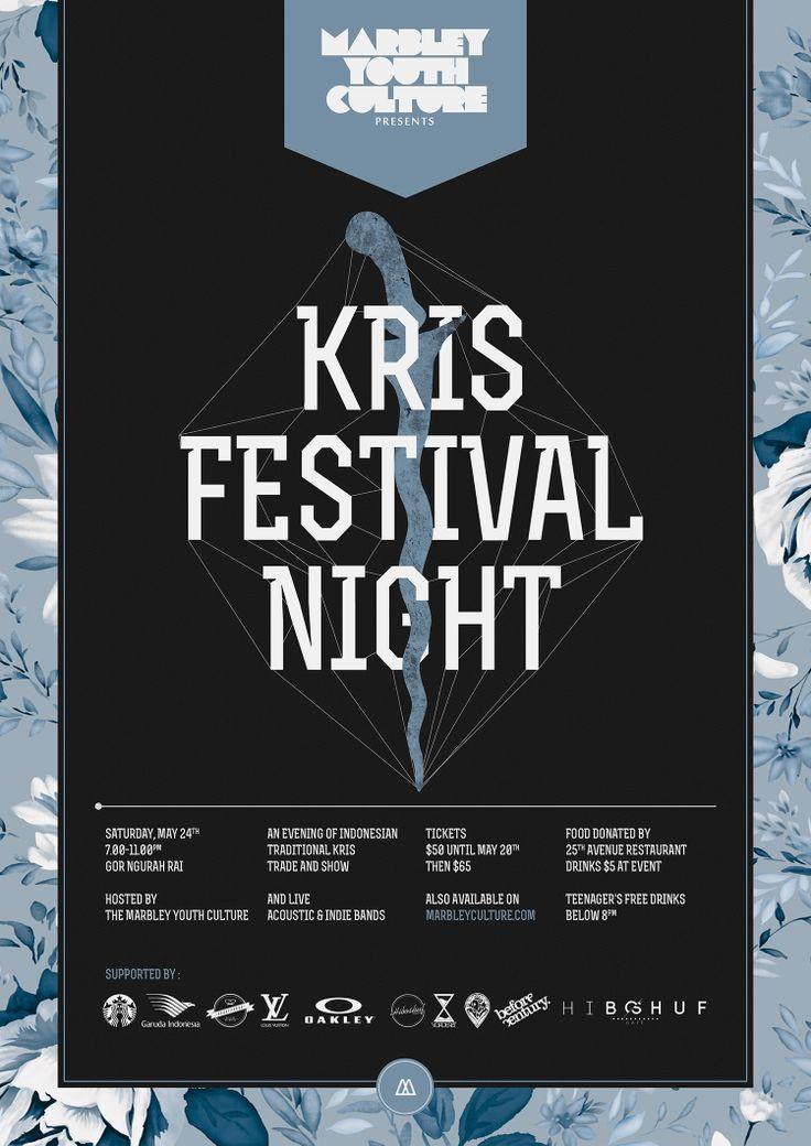 Kris Festival Night Poster Rf.2