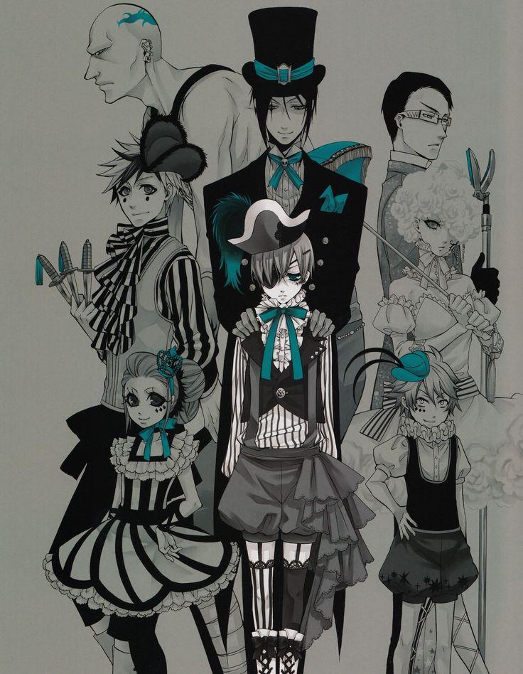 Download Kuroshitsuji (3067x3952) - Minitokyo