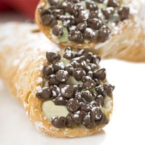 A fun cannoli recipe including the cannoli shell recipe.. Chocolate Chip Cannoli Recipe from Grandmothers Kitchen.