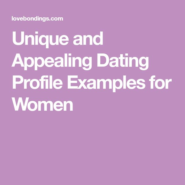 Best online dating profile examples