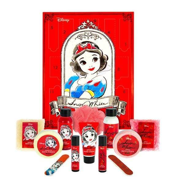 Disney Snow White 12 Days Beauty Advent Calendar 7 Exclusively Designed Beauty Products Beauty Advent Calendar Christmas Beauty Best Beauty Advent Calendar