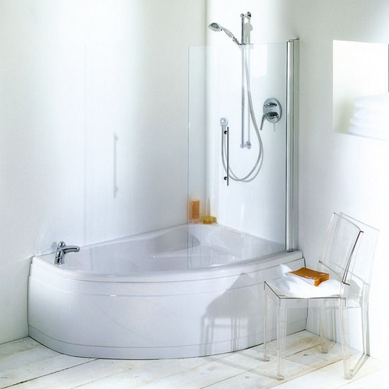 Tub shower combo ideas travertine tile bathtub shower for Garden bathtub shower combo