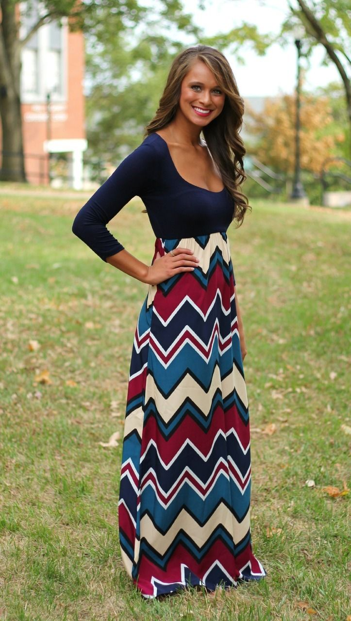 The Pink Lily Boutique - High Expectations Maxi, $42.00 (http://www.thepinklilyboutique.com/high-expectations-maxi/)