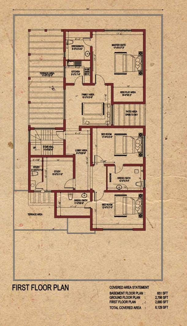 Classic House Design By Core Consultant 1 Kanal House With Basement Classic House Design House Floor Plans Classic House