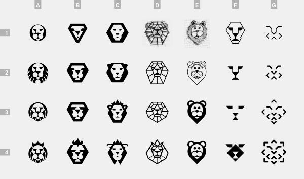 simple lion drawing - Google Search